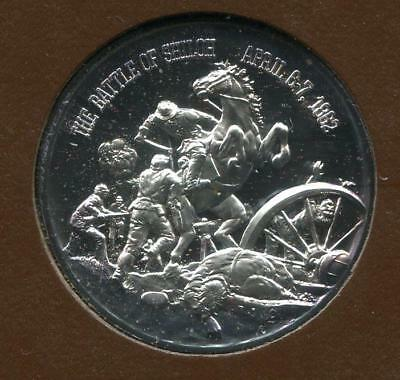 Civil War Sterling Round   The Battle of Shiloh (RC13579)