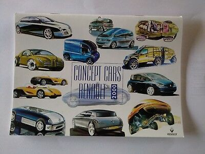 Calendriers Concept Cars Renault 2000