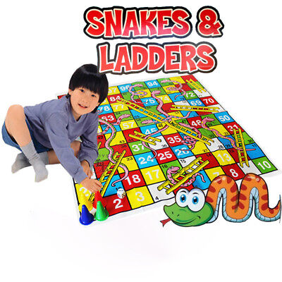 Snakes and Ladders Traditional Childrens Family Board Game Kids Adults Toy Gifts