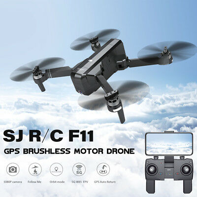 SJRC Drone F11 5G Hand Gesture Shooting 1080P HD Follow GPS Quadcopter E8K2