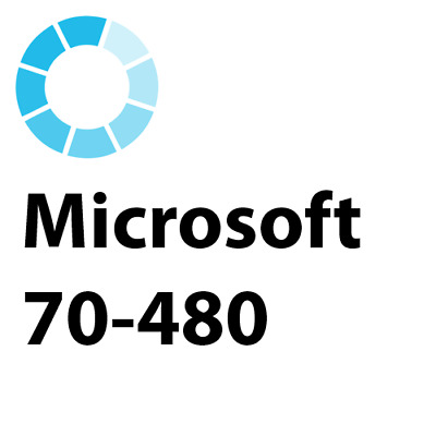 70-480 Microsoft Programming in HTML5 with JavaScript and CSS3 Exam Test PDF