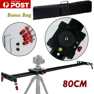 """Camera Slider Rail Track Stabilizing Mount System for Photography Canon DSLR 32"""""""