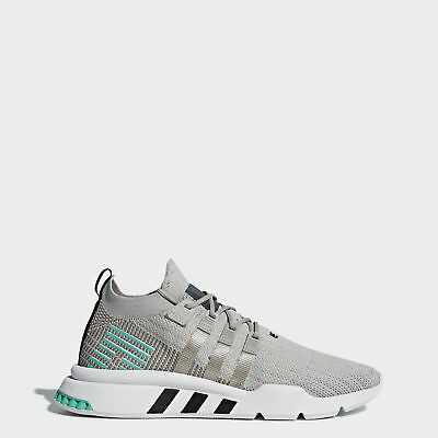 detailed look a49f9 45ad5 ADIDAS ORIGINALS EQT Support Mid ADV Primeknit Shoes Men Trainers Grey  Lifestyle