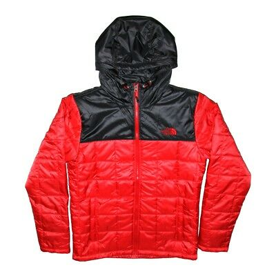ef245ba215 THE NORTH FACE Mens TNF Red Square Synth Hooded Jacket Padded Coat - EUR 194