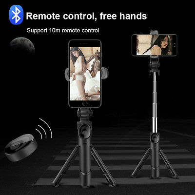 Selfie Stick Tripod Portable 360 Degree Rotation With Bluetooth Remote For Mobil