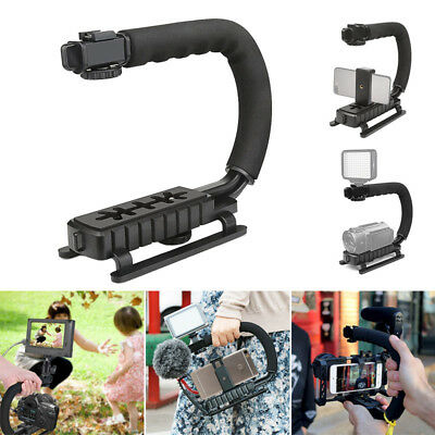 Video Handheld Stabilizer Camera Action Stabilizing Grip Handle for Canon Nikon