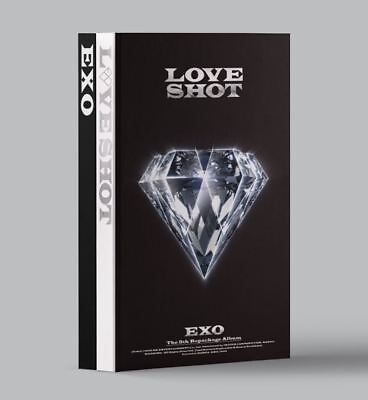 "Exo  ""love Shot""  5Th Repackage    Random Version    Sealed, Tracking Num"