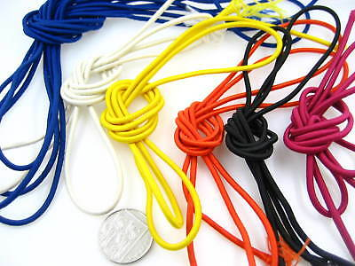 5m of 3mm diameter Round Elastic cord sewing accessories 3mm stretch bungee cord