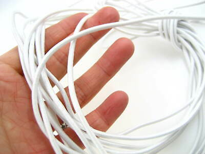 5m of 3mm off white Round Elastic cord sewing accessories stretch bungee cord