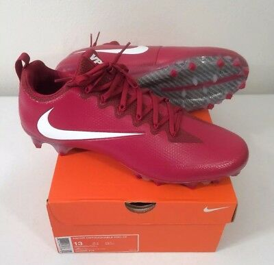 4c2cd41a612c Nike Football Cleats Vapor Untouchable Pro CF Red White 922898-616 Size 13