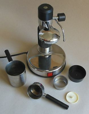 AMA MILANO Vintage Espresso coffee maschine, Made in Italy, Mod. A110VAP, 700 W
