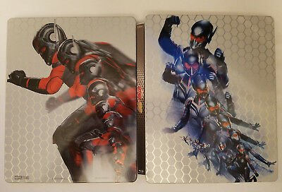 Ant-Man and the Wasp 3D Zavvi EMPTY STEELBOOK No Blu-ray No 3D! CASE ONLY!