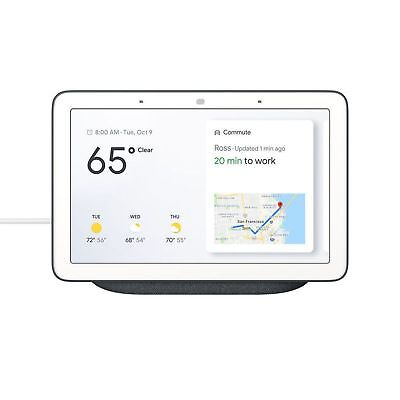"Google Home Hub 7"" with Google Smart Assistant Charcoal"