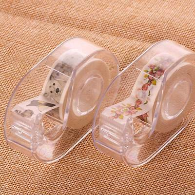 New 1pcs Clear Desktop Tape Dispenser Tape Paper Tape Storage Box Hot Sale Nice