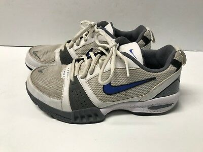 size 40 3390a b3baf Nike Air Men s Running Training Shoes White Blue Grey 344108-141 Men s Size  8