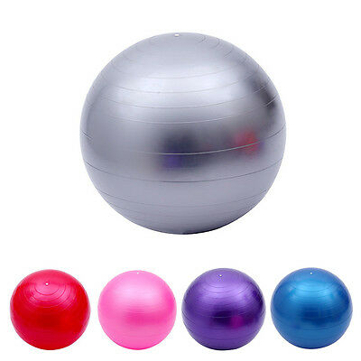 45cm Yoga Fitness Exercise Gym Ball Yoga Core Ball Abdominal Back Leg Workout