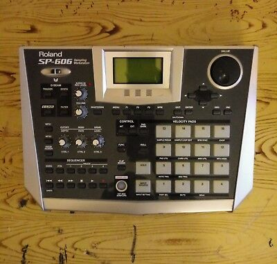 Roland sp-606 sampling workstation: be creative! Youtube.
