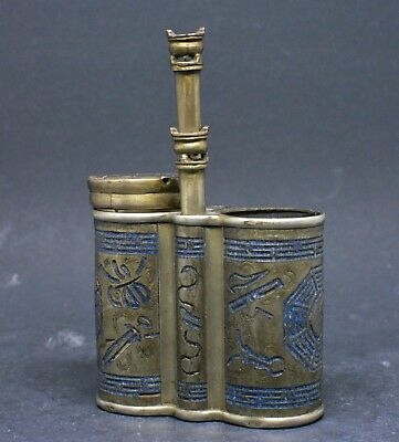 Antique Chinese Opium Container ~ Marked ~