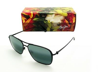 33788bf068ea MAUI JIM BEACHES Polarized 541-2M Sunglasses Black Frame/neutral ...