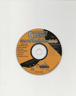 Karaoke Chartbuster Cd+G Country Hot Hits Cb20195  Disc # 195