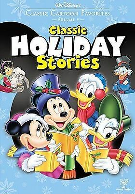 Walt Disneys Classic Cartoon Favorites Christmas Holiday Stories DVD Xmas Mick