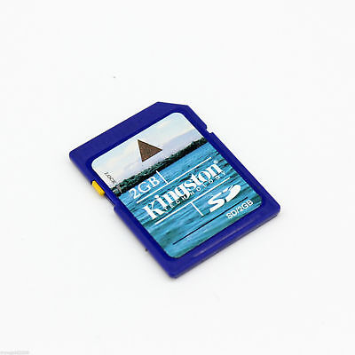 Kingston 2GB SD Standard Blue Secure Digital Memory Card Class 2