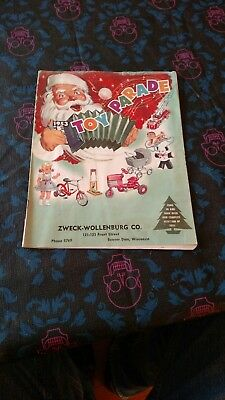 VINTAGE 1953 Toy Parade Zweck-Wollenburg Co. Beaver Dam, Wis. Christmas Catalog