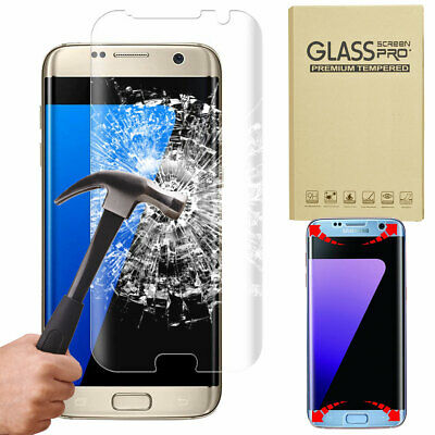 Full Cover 9H Tempered Glass Screen Protector Flim For Samsung Galaxy S6 S7 Edge
