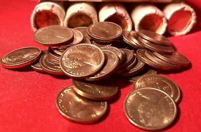 1970 1 Cent Coin Unc. X 1 Coin Ex Mint Roll.