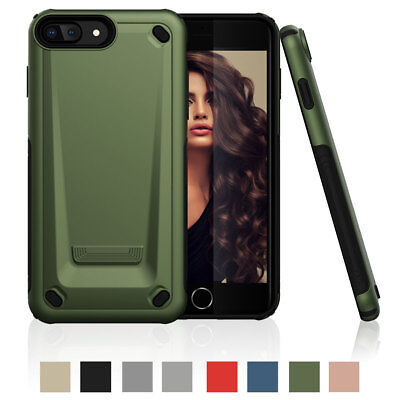 For iPhone 7 Plus 8 Plus Heavy Duty Drop Shock Proof Rugged Hard Back Case Cover