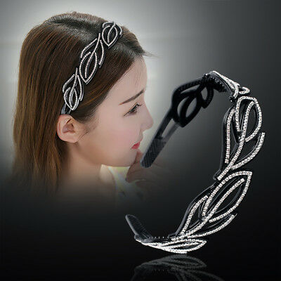 Fashion Women's Crystal Rhinestone Headband Hairband Hair Hoop Band Accessories