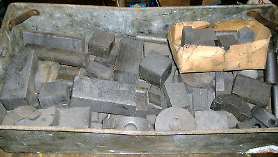Collection of carbon graphite anodes & tools for selective electroplating