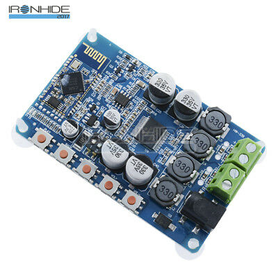 TDA7492P 2 X 50W Bluetooth 4.0 Audio Receiver Amplifier Module Board + Case