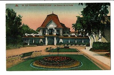 CPA-Carte postale-FRANCE- Le Touquet  Paris Plage- Le Casino-1933-S4324