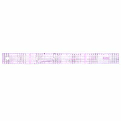 Multi-function Code Ruler Cutting Ruler Sewing Feet Yardstick Clear Scale AZ