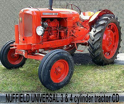 LEYLAND & NUFFIELD Tractors, 5 Manuals on 1 great CD