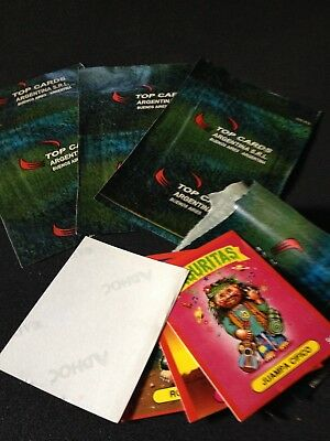 Basuritas ONE GREEN Packet UNOPENED + Black Album Argentina Garbage Pail Kids