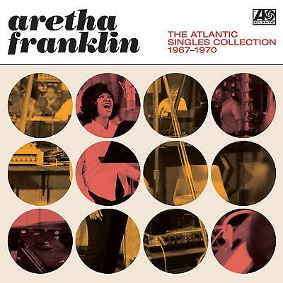 Aretha Franklin The Atlantic Singles Collection 1967-1970 2 CD ALBUM NEW (31.1)