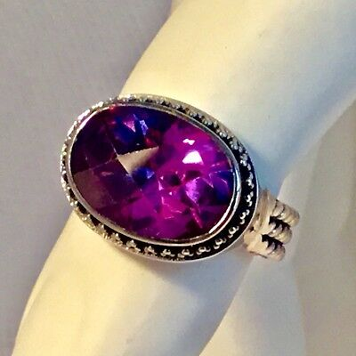 Lori Bonn Sterling Silver Oval Ring ALEXANDRITE SOLD OUT!