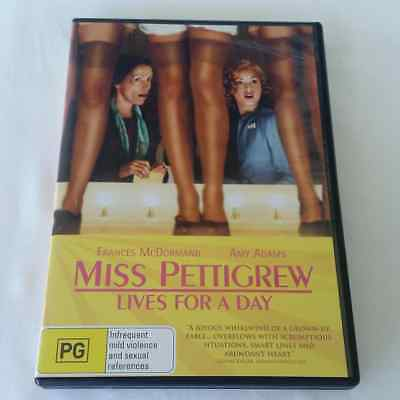 Miss Pettigrew Lives For A Day (DVD, 2008) FREE POST
