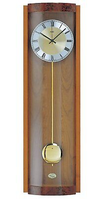 AMS Clocks, 4/4 Westminster Chime & Strike Pendulum Clock, Cherry AM W7087/9