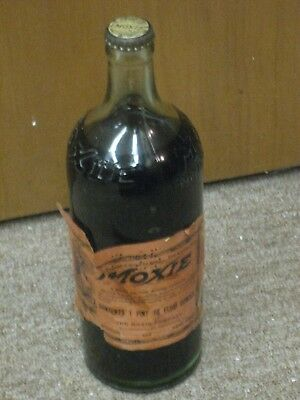 Vintage Unopened Moxie Tonic 1Pt. 10 oz. Bottle