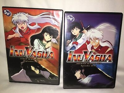 InuYasha DVD Box Set (Complete First 1st + Second 2nd Season) English TV Version