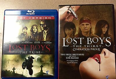 Lost Boys - The Tribe (Blu-ray Disc, 2008) & Lost Boys The Thirst Dvd