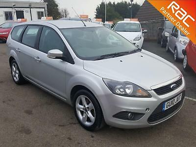 2010 Ford Focus Estate 1.6 100 Zetec Petrol silver Manual