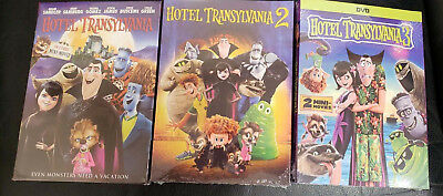 Hotel Transylvania Trilogy DVD Bundle Set New Free Shipping 1 2 3