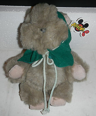 Vintage NWT 1991 Disney World Mouseketoys Star Wars Ewok Plush Stuffed Animal