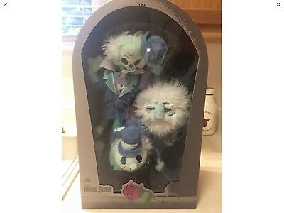 New Disney Parks Haunted Mansion Hitchhiking Ghosts Limited Release Plush's Set