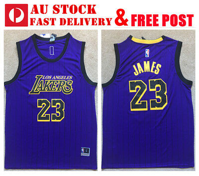 huge discount decc7 1740b LBJ LEBRON JAMES #23 Los Angeles Lakers LA Jersey Men Kid ...