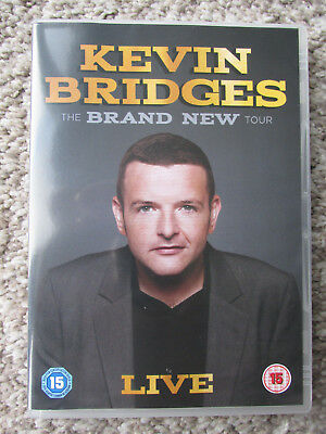 Kevin Bridges  - THE BRAND NEW TOUR - LIVE   DVD & WITH SLEEVE